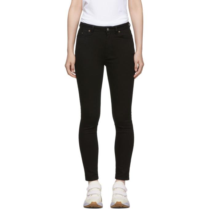 Image of Acne Studios Blå Konst Black Peg Jeans