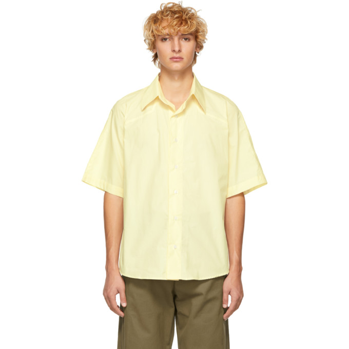 SSENSE Exclusive Yellow Western Ballad Shirt