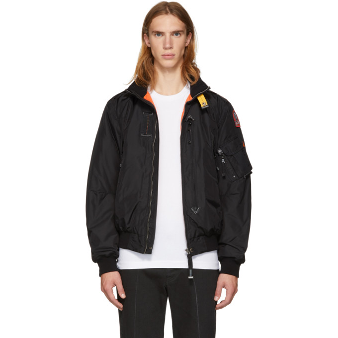 Image of Parajumpers Black Masterpiece Fire Jacket