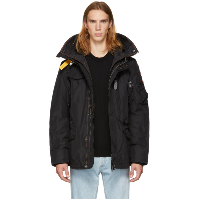 Image of Parajumpers Black Masterpiece Base Right Hand Jacket