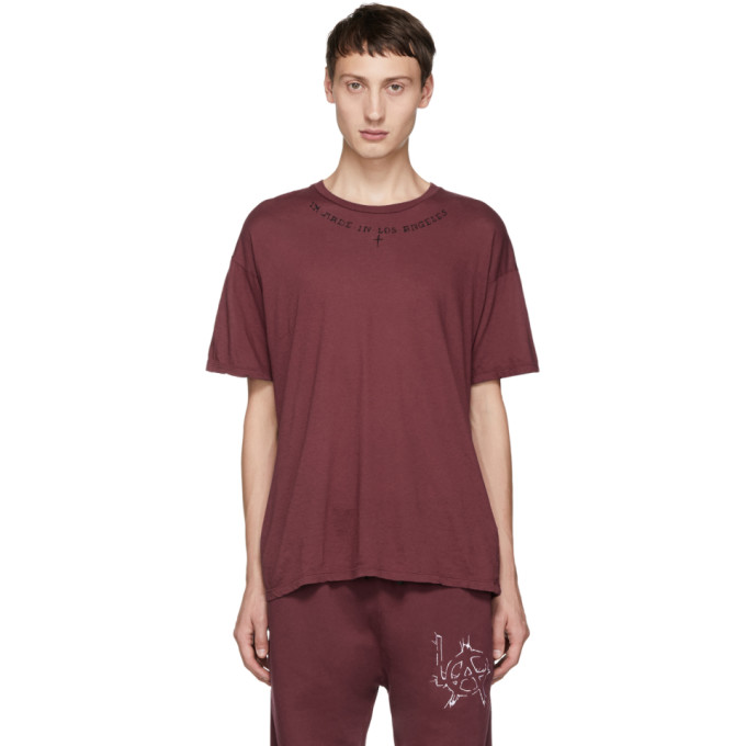 Adaptation T-shirt en jersey rouge