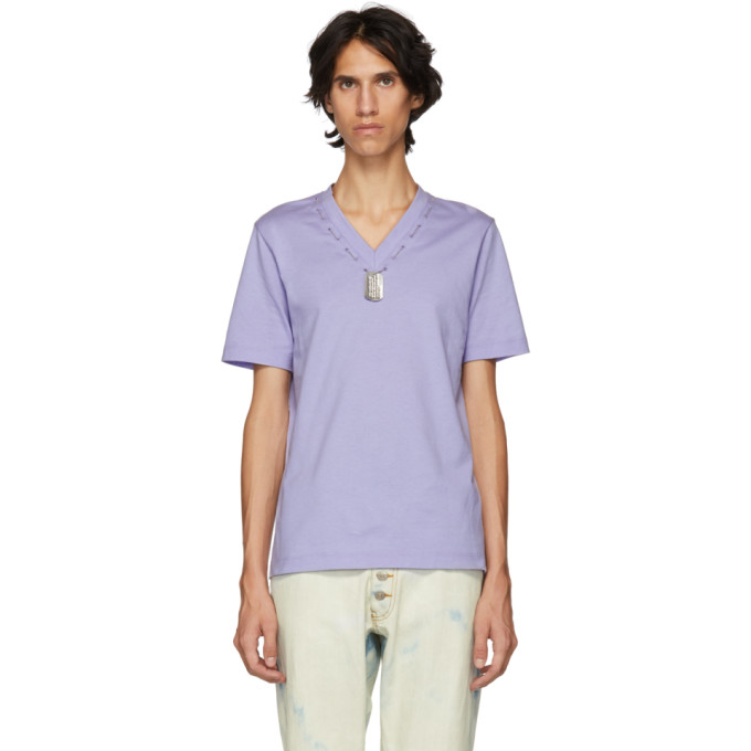 Linder T-shirt mauve Darby Dog Tag