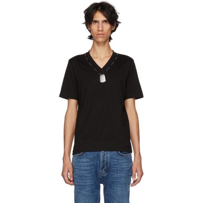 Linder T-shirt noir Darby Dog Tag