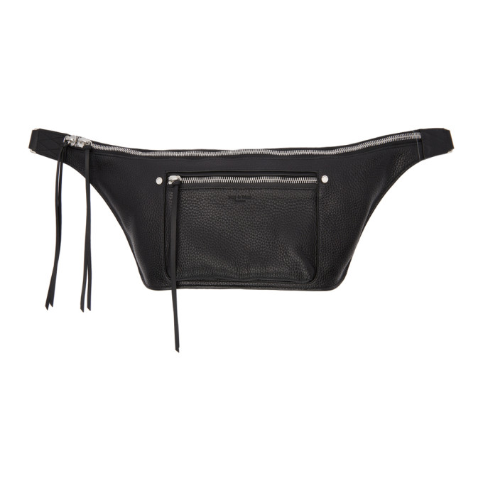 Rag & Bone Black Large Elliot Fanny Pack