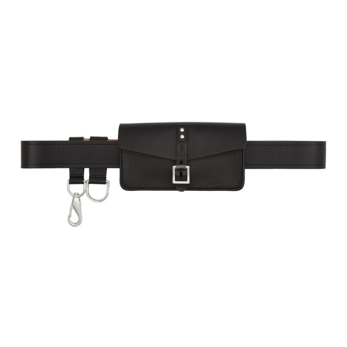 Rag & Bone Black Dwight Belt Bag