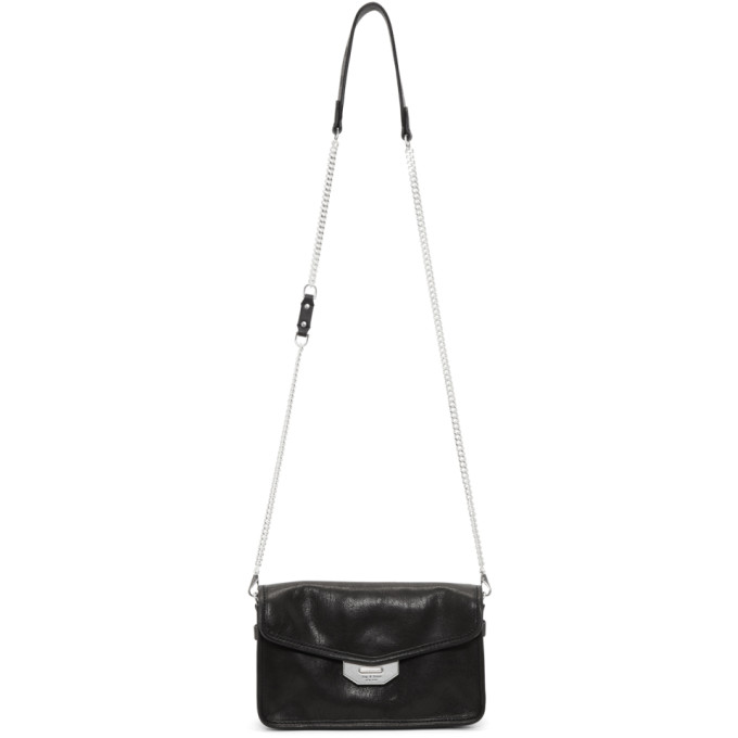 Rag & Bone Black Field Clutch