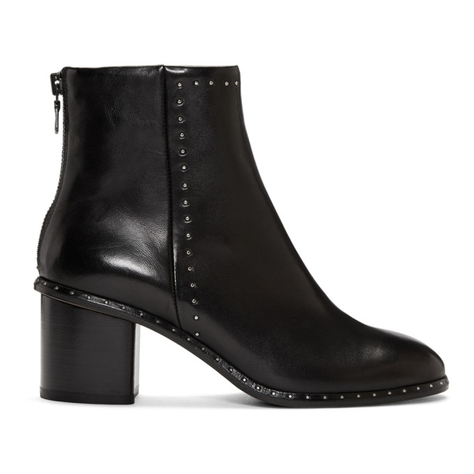rag and bone Black Willow Stud Boot