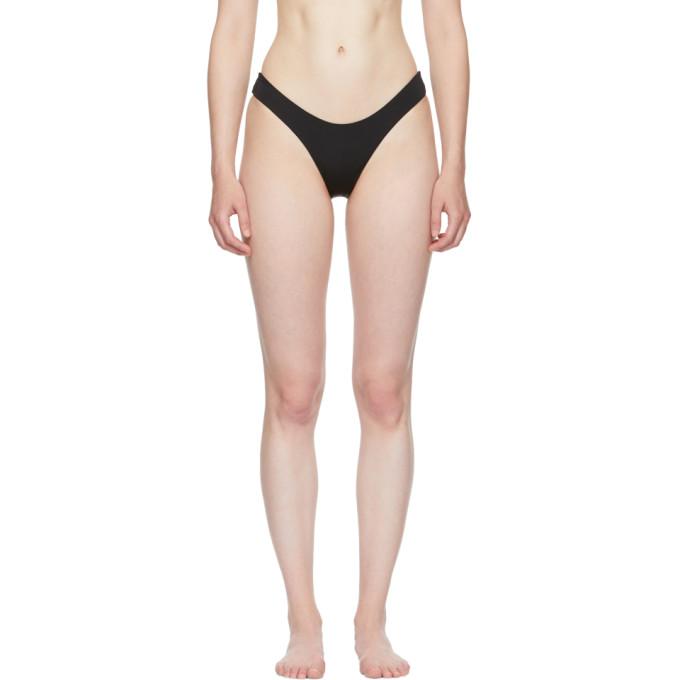 Image of Myraswim Black Cindy Bikini Bottoms
