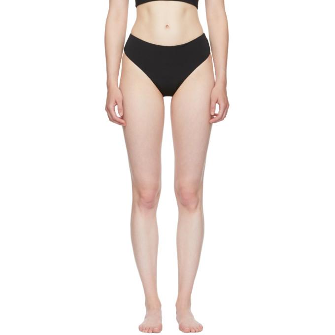 Myraswim Culotte de bikini noire Mia