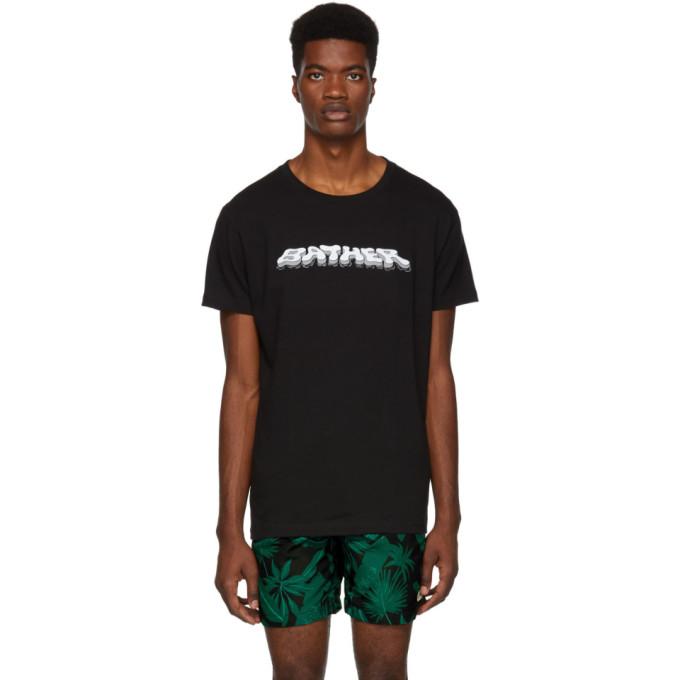 BATHER Bather Black Bather T-Shirt