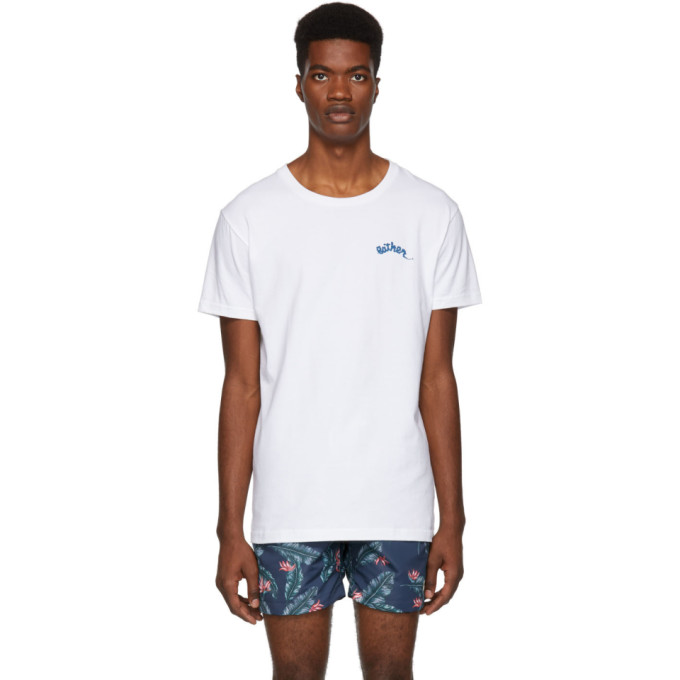 BATHER Bather White Beach Girl T-Shirt