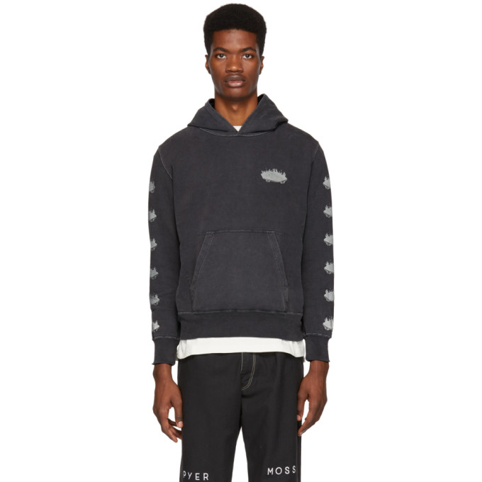REMI RELIEF Remi Relief Black Skateboard Sp Finish Hoodie