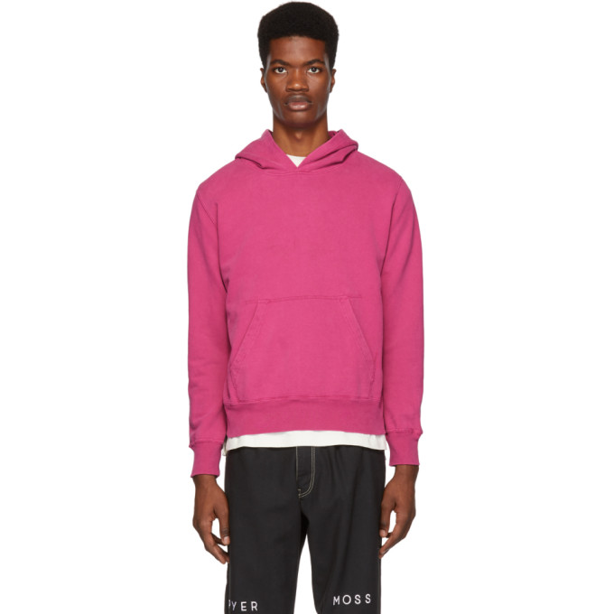 REMI RELIEF Remi Relief Pink Sp Finish Hoodie