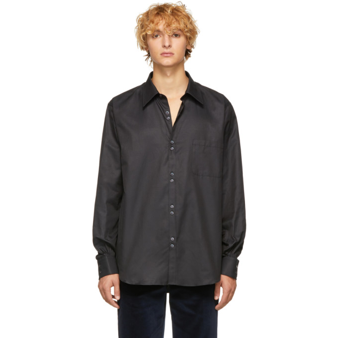 Cobra SC Black Double Button Shirt