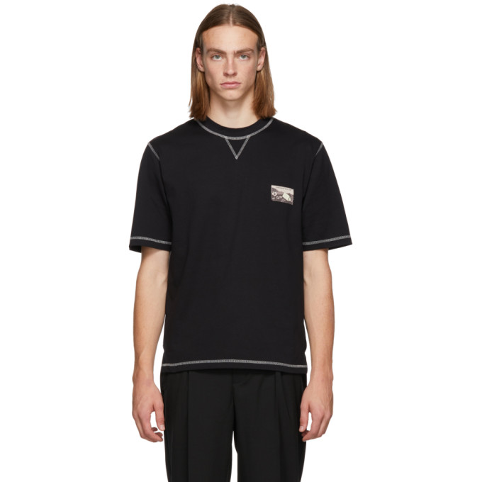 LHOMME ROUGE Lhomme Rouge Black Climber T-Shirt