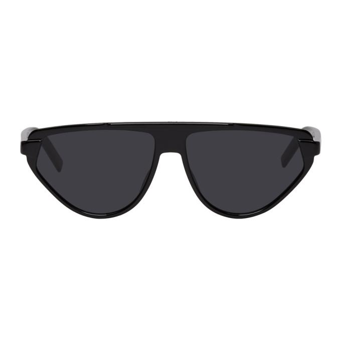 Image of Dior Homme Black 247S Black Tie Sunglasses