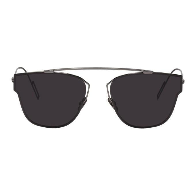 Image of Dior Homme Gunmetal 204 Sunglasses