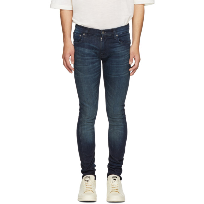 Nudie Jeans Indigo Tight Terry Jeans