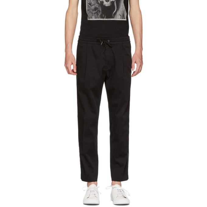 Image of Boss Black Keen Contrast Stripe Trousers