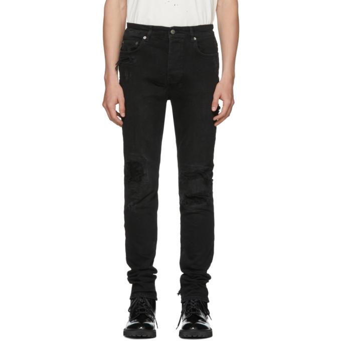 Image of Ksubi Black Chitch Distressed Jeans