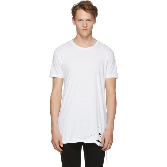 Ksubi ホワイト Sioux T シャツ