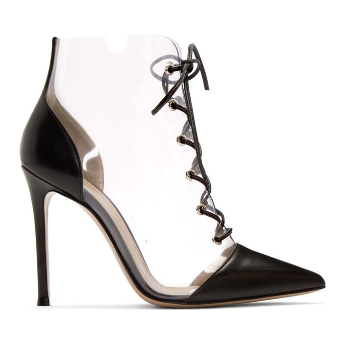 335cb3ec42b Gianvito Rossi Transparent Icon Boots