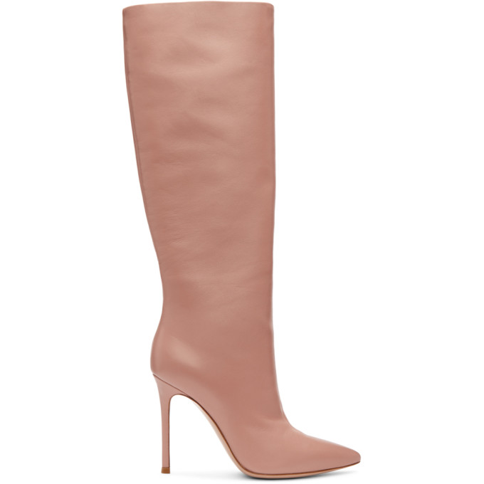 Gianvito Rossi Pink Suzan Boots
