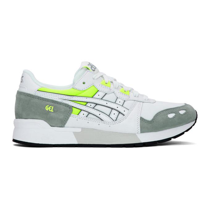 Asics White & Grey Gel-Lyte Sneakers