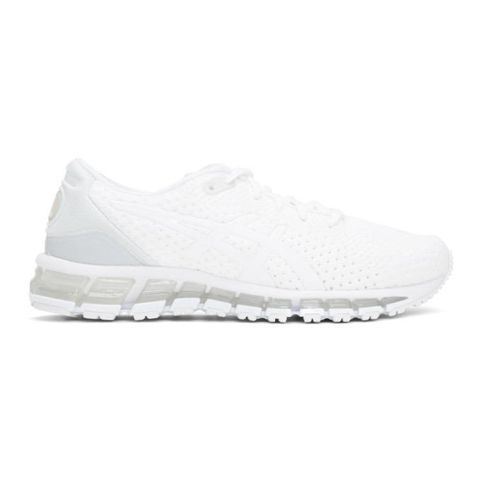 Asics White Gel-Quantum 360 Knit 2 Sneakers