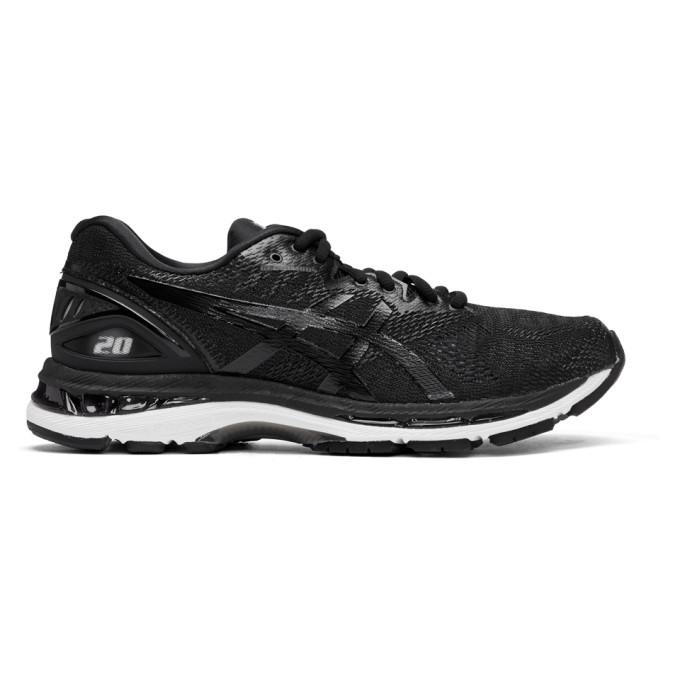 Asics Black & White Gel-Nimbus 20 Sneakers