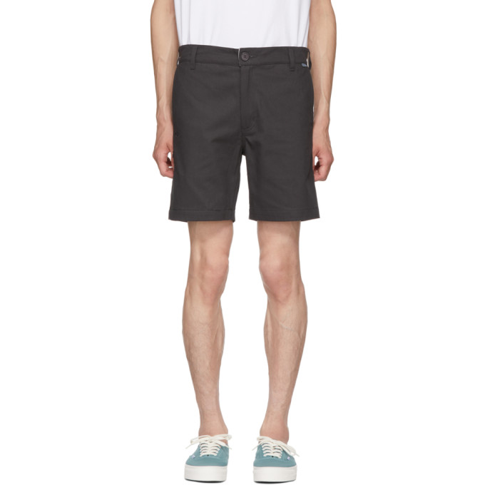 Image of Dickies Construct Black Straight Slim Shorts