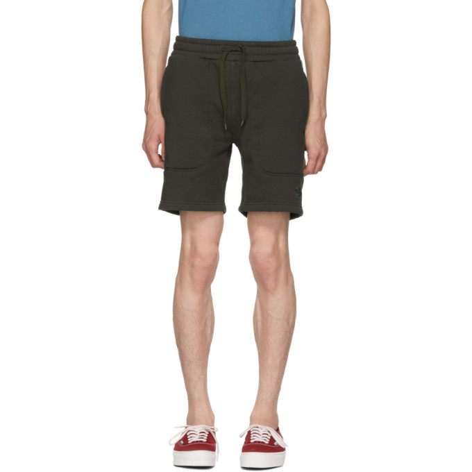 Image of Dickies Construct Black Panelled Sweat Shorts