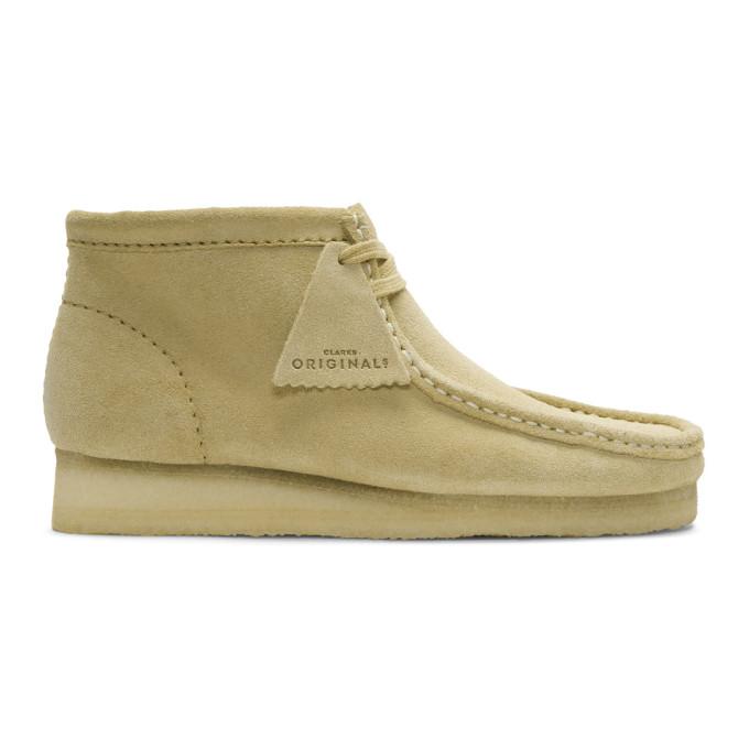 Image of Clarks Originals Tan Suede Wallabee Boots