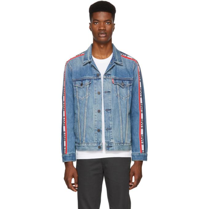 Levi's Blue Sportswear Trucker Denim Jacket