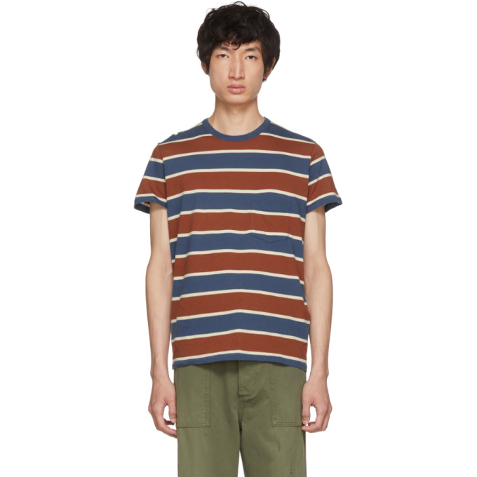 Image of Levi's Vintage Clothing Tricolor Casual Stripe T-Shirt