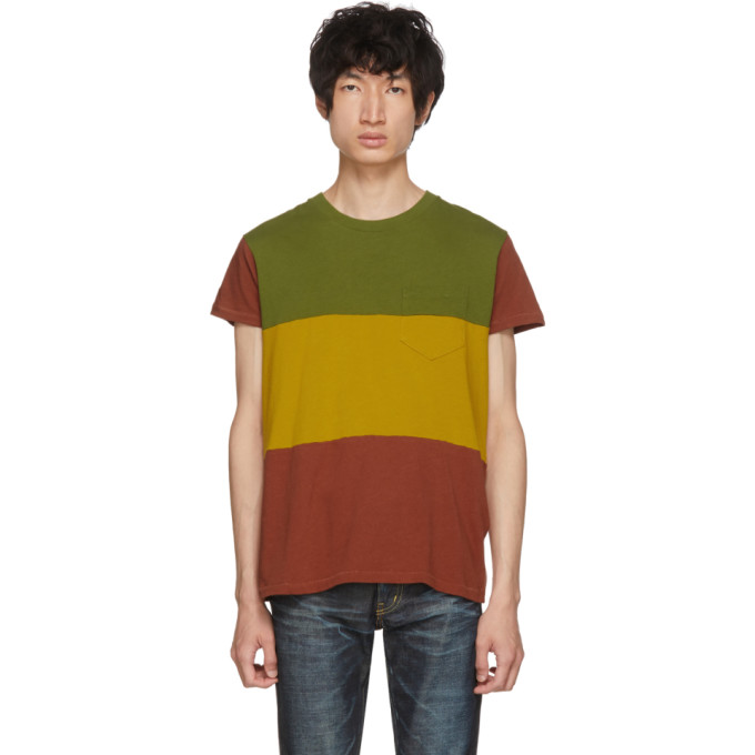 Image of Levi's Vintage Clothing Tricolor Three-Way 1950s Sportswear T-Shirt