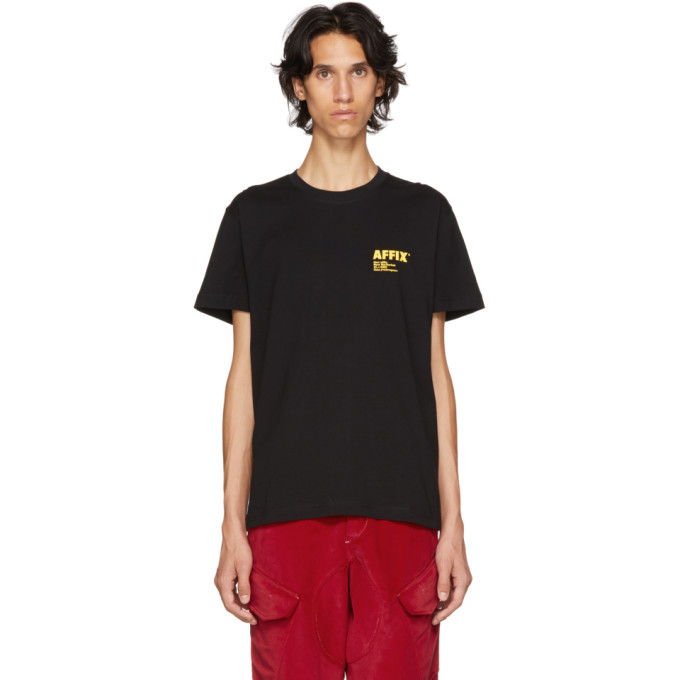 Image of Affix Black Logo T-Shirt