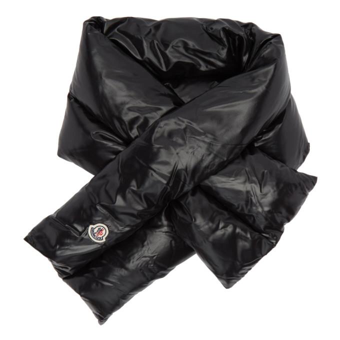 Moncler Foulard en duvet noir