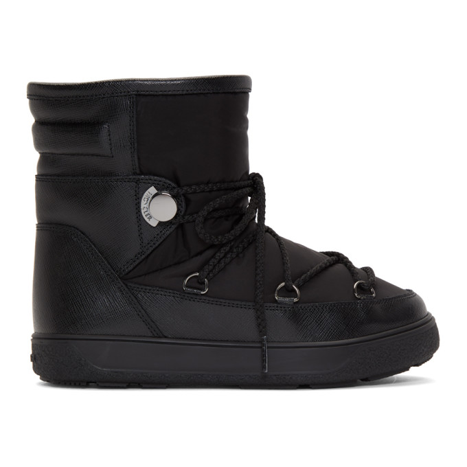 Moncler Black Stephanie Moon Boots