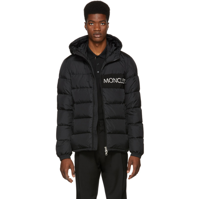 Aiton Quilted Shell Jacket in Black