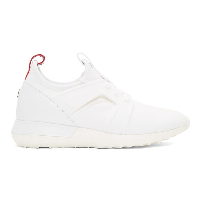 Moncler White Emilien Sneakers