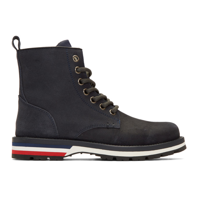 Moncler Navy New Vancouver Boots
