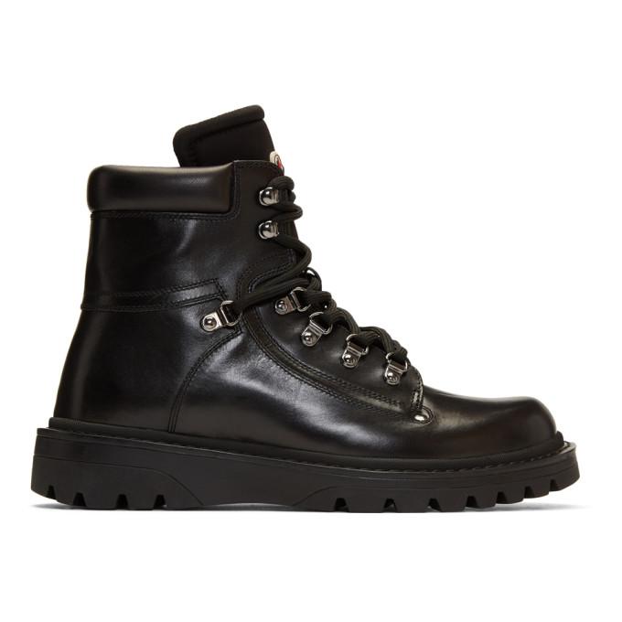 Moncler Black Egide Boots