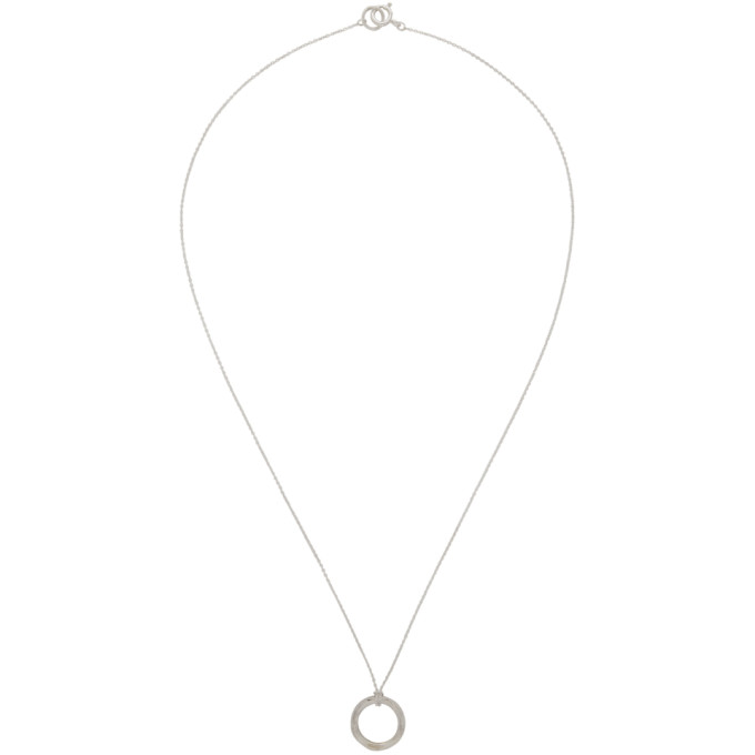 Image of Chin Teo Silver Transmission Necklace