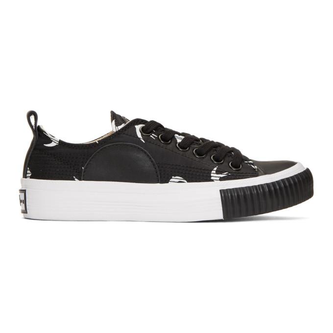 McQ Alexander McQueen Black Plimsoll Low Sneakers