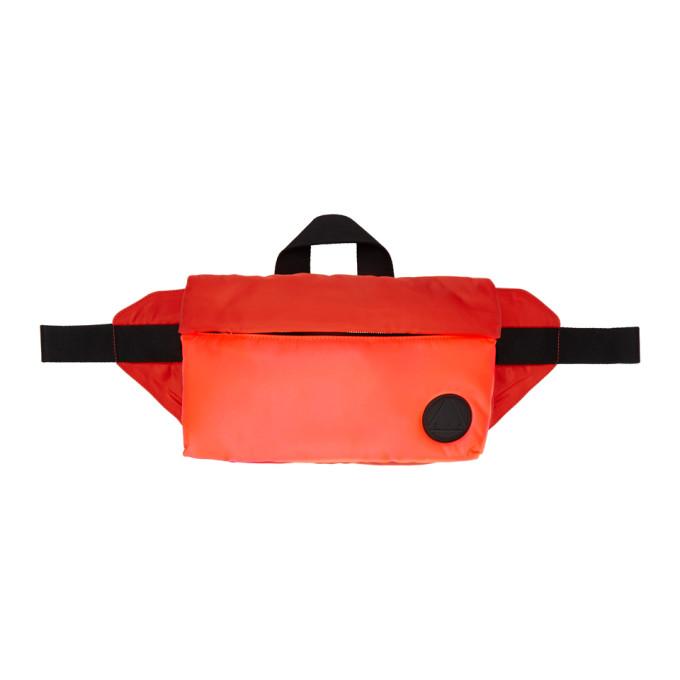 McQ Alexander McQueen Red Waist Pouch