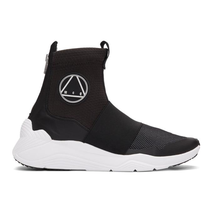 McQ Alexander McQueen Black New Hikaru Sneakers