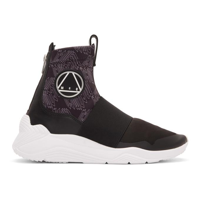 McQ Alexander McQueen Black Hikaru Sneakers