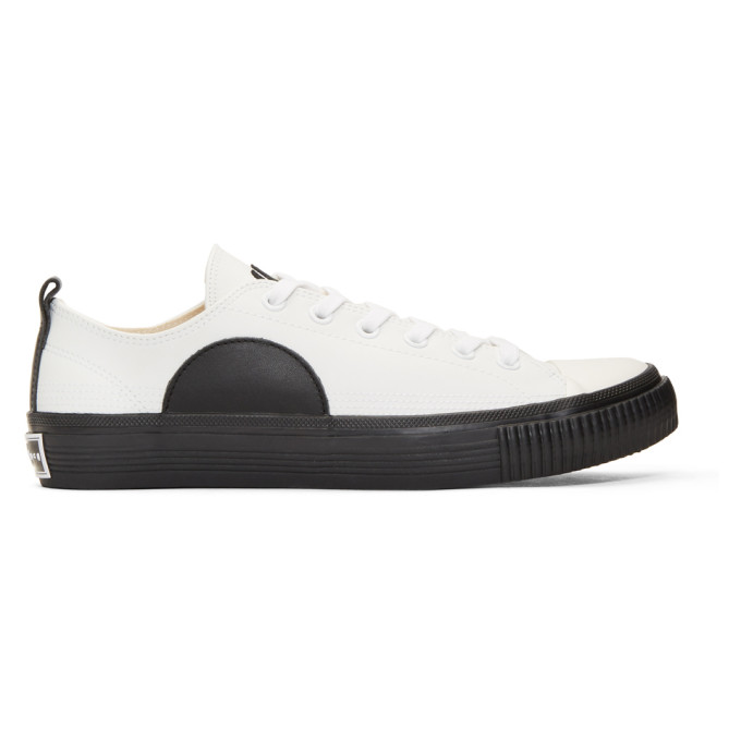 McQ Alexander McQueen White Plimsoll Sneakers