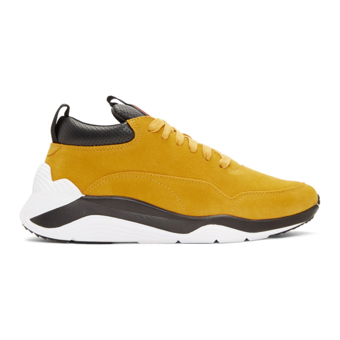McQ Alexander McQueen Yellow Gishiki Hybrid Sneakers